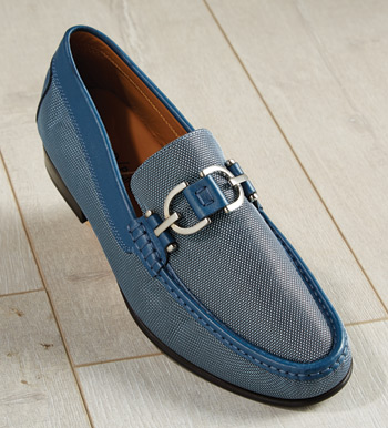 Denim Colin Slip-On Shoes