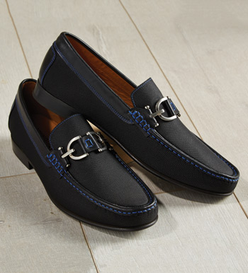 Black Colin Slip-On Shoes