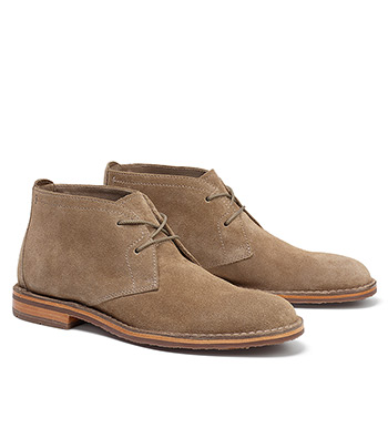 English Suede Chukka Boots
