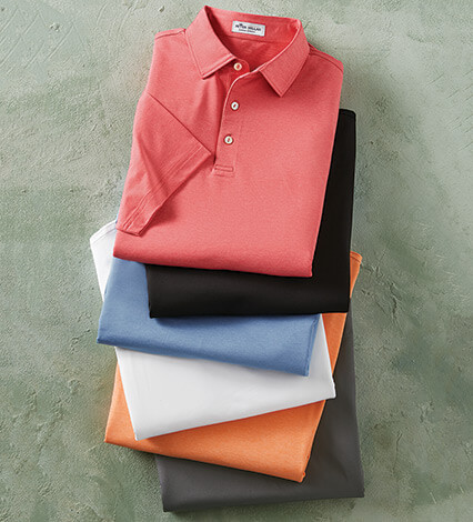 Sean Performance Short Sleeve Polo Shirt