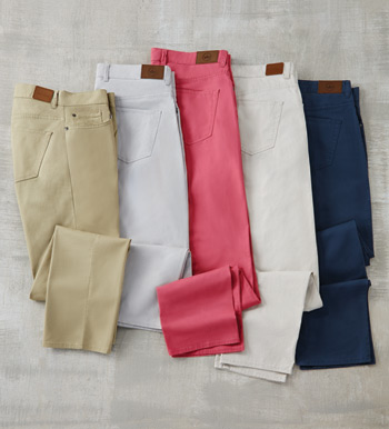 Soft Touch Twill Jeans
