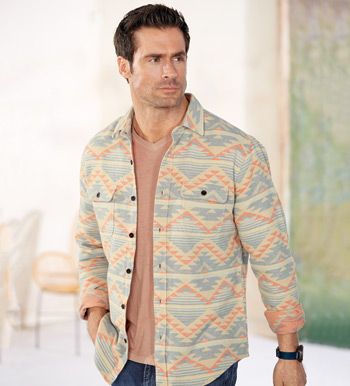 Belmar Aztec Big Shirt