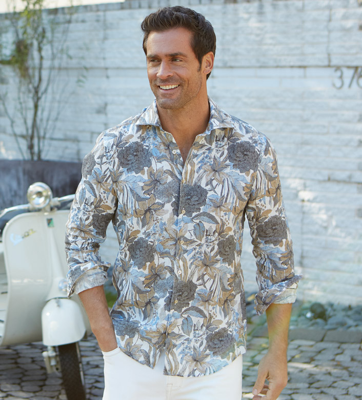 Button-down shirt to wear to wedding