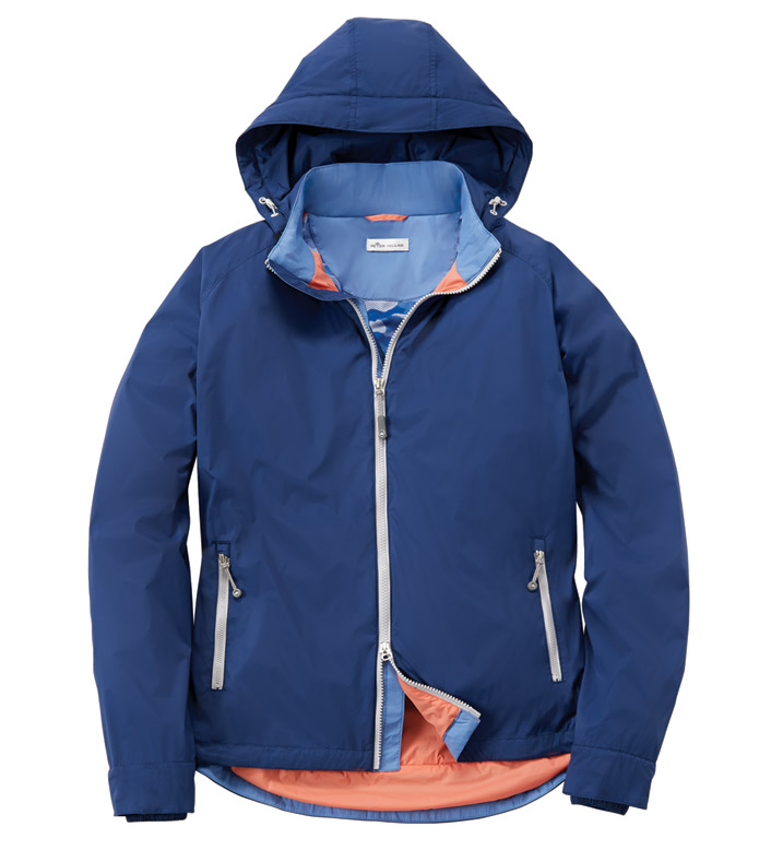 Peter Millar Seaside Microfiber Stretch Windbreaker