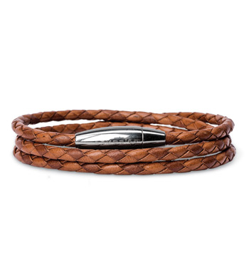 Mediterranean Leather Bracelet
