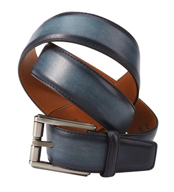 Navy Dali Belt