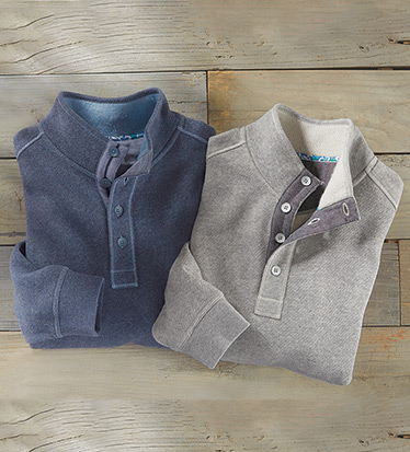 Via Norte Fleece Pullover