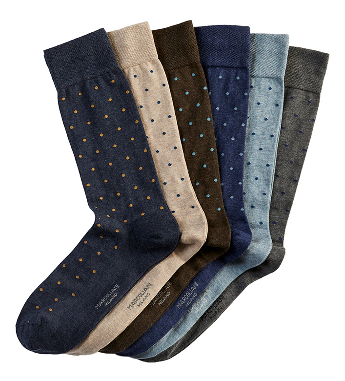 Marcoliani Polka Dot Fashion Socks