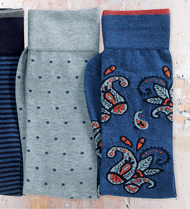 Paisley Fashion Socks
