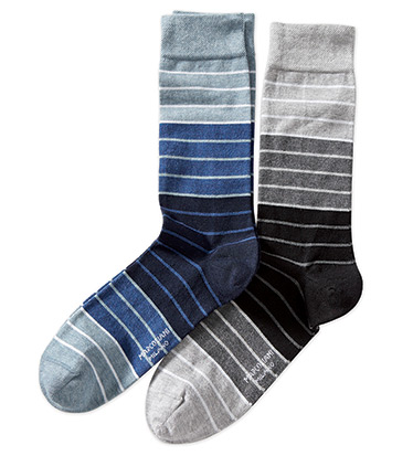 Graded Stripes Socks