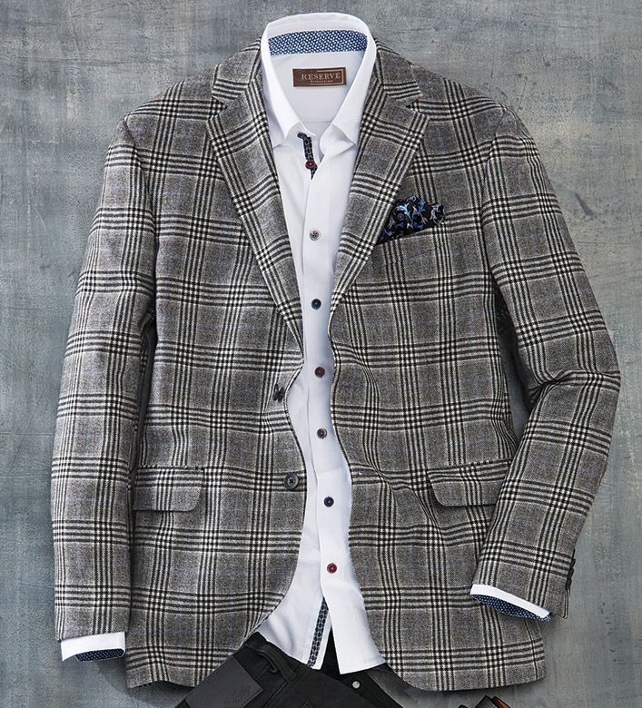 Reserve Glen Plaid Sport Coat
