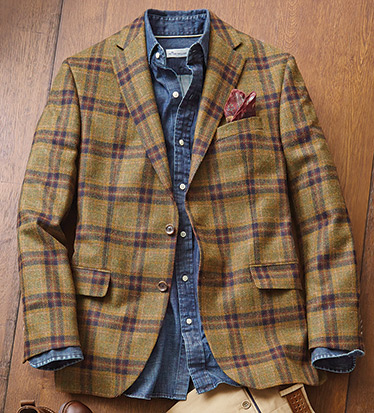 Country Plaid Sport Coat