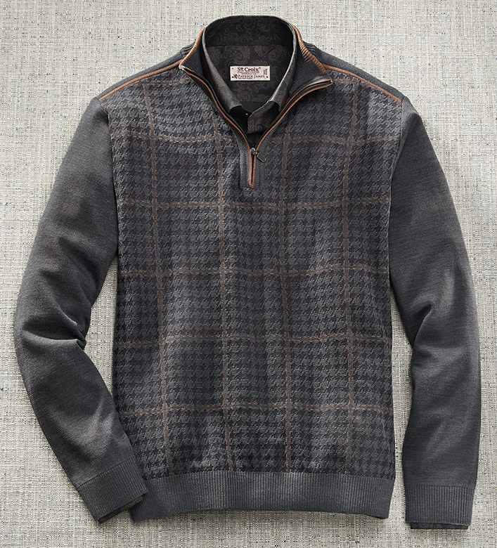 St. Croix Houndstooth Sweater
