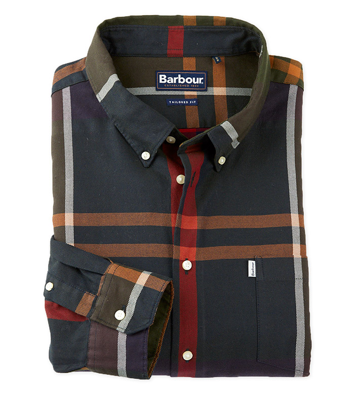 Barbour Dunoon Tartan Long Sleeve Sport Shirt