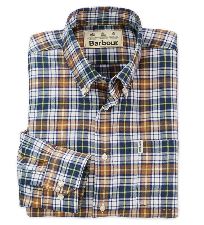 Barbour Thermo-Tech Lund Long Sleeve Sport Shirt