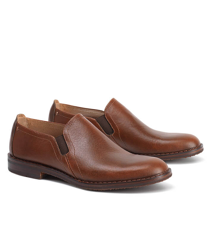 Trask American Bison Slip-On Shoes
