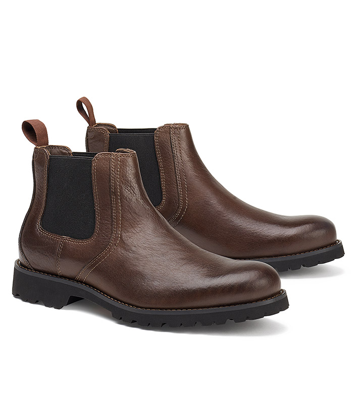 Trask Gunter Bison Leather Boots