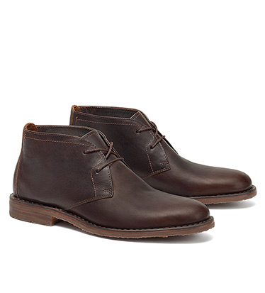 Oiled Steer Chukka Boots