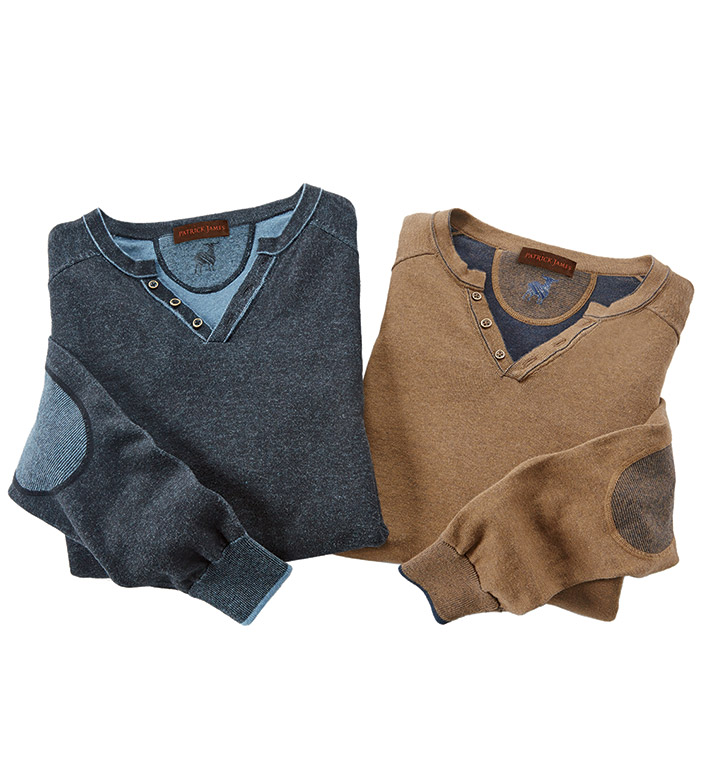 Patrick James Reversible Venley Sweater