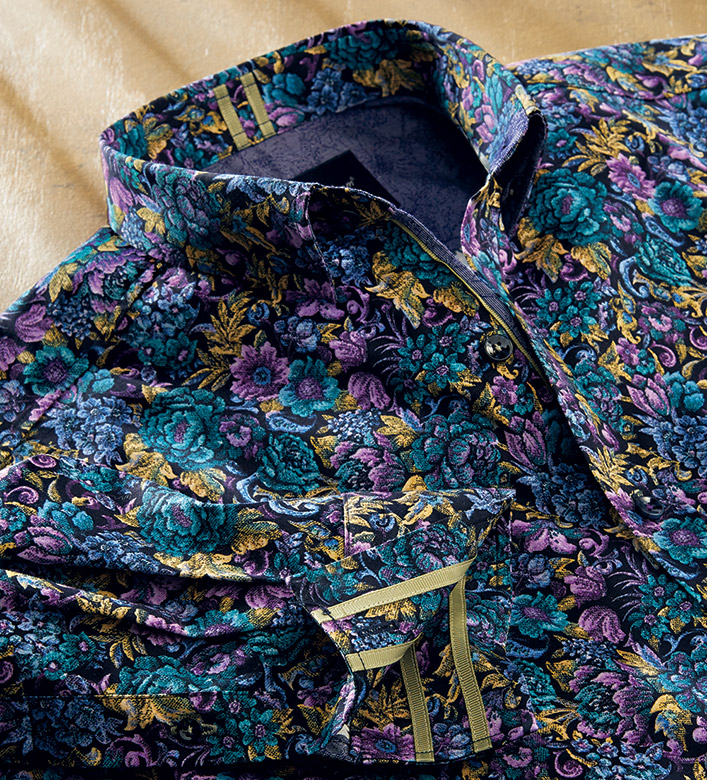 Robert Graham Foster Floral Long Sleeve Sport Shirt