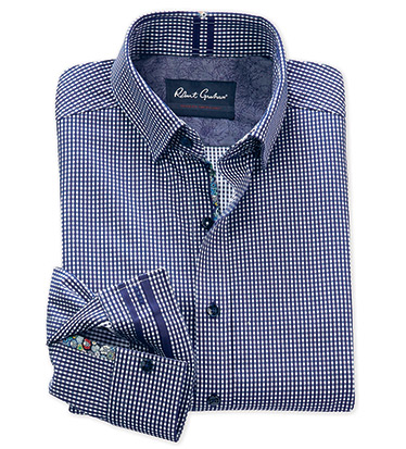 Charlie Check Long Sleeve Sport Shirt