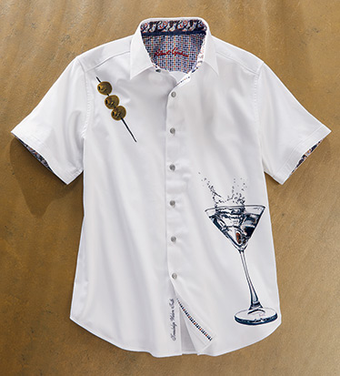 Dean Martini Short Sleeve Sport Shirt