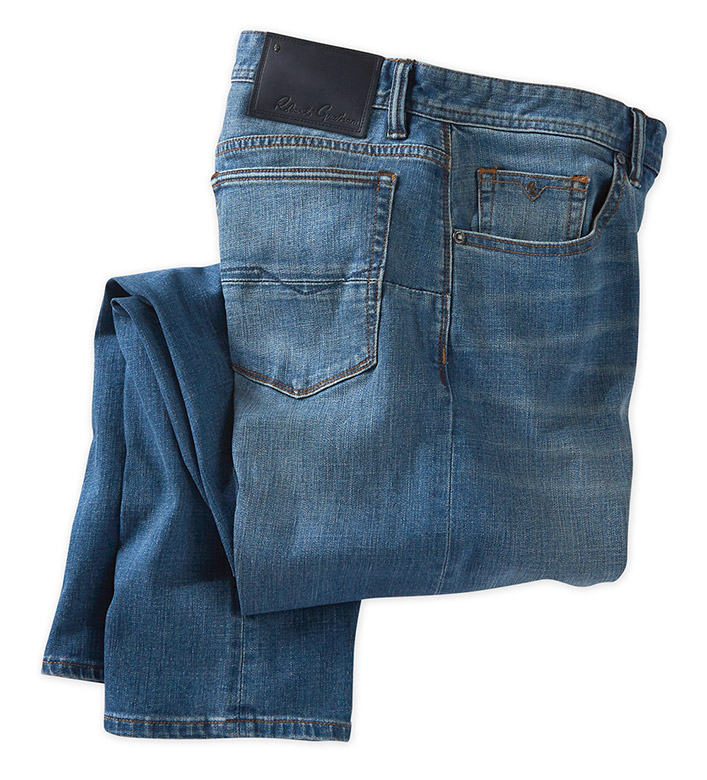 Robert Graham Devine Medium Stretch Comfort Jeans