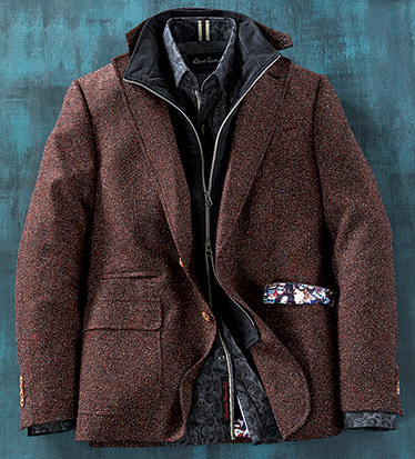 Downhill Tweed Sport Coat