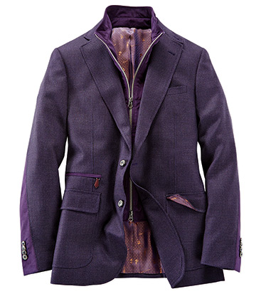 Purple Downhill Sport Coat