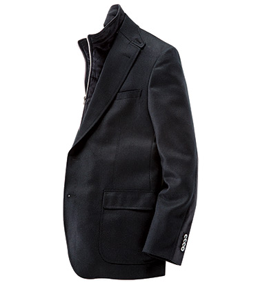 Black Downhill Sport Coat