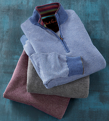 Rhett Quarter-Zip Sweater