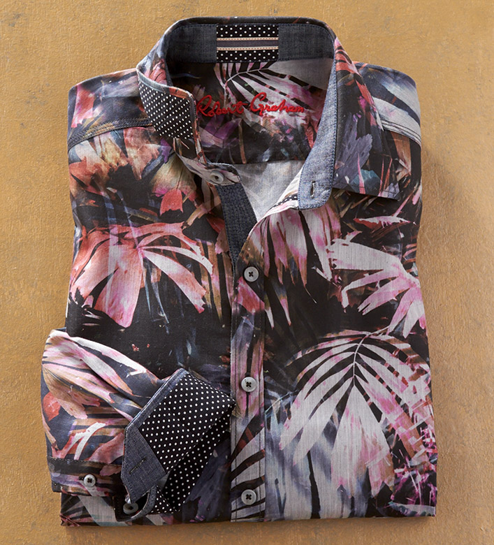Robert Graham Desperado Long Sleeve Sport Shirt
