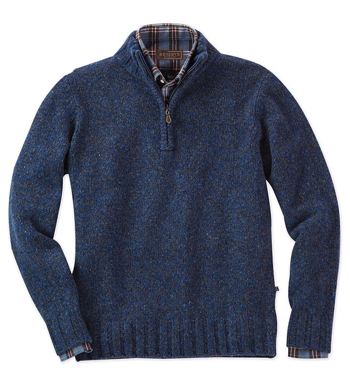 Reserve Fitzgerald Quarter-Zip Sweater