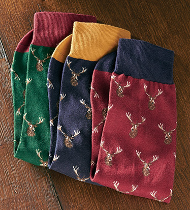Stirling Stag Socks