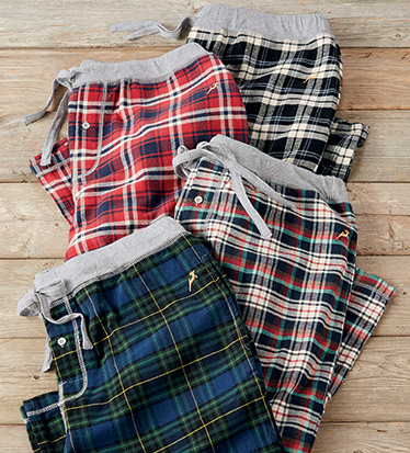 Crossroads Plaid Flannel Pants