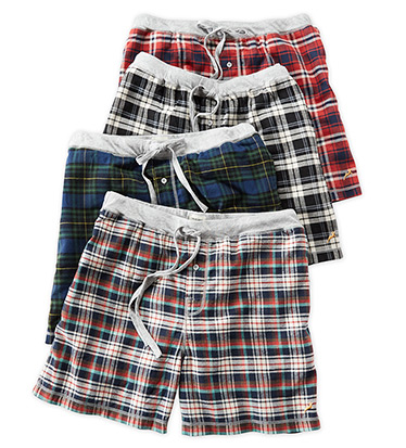 Crossroads Plaid Flannel Boxers