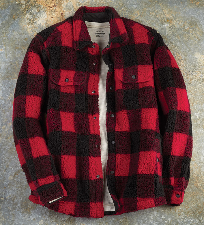 True Grit Buffalo Check Jacket