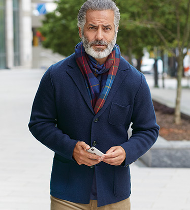 Wool-Cashmere Thomas Jacket