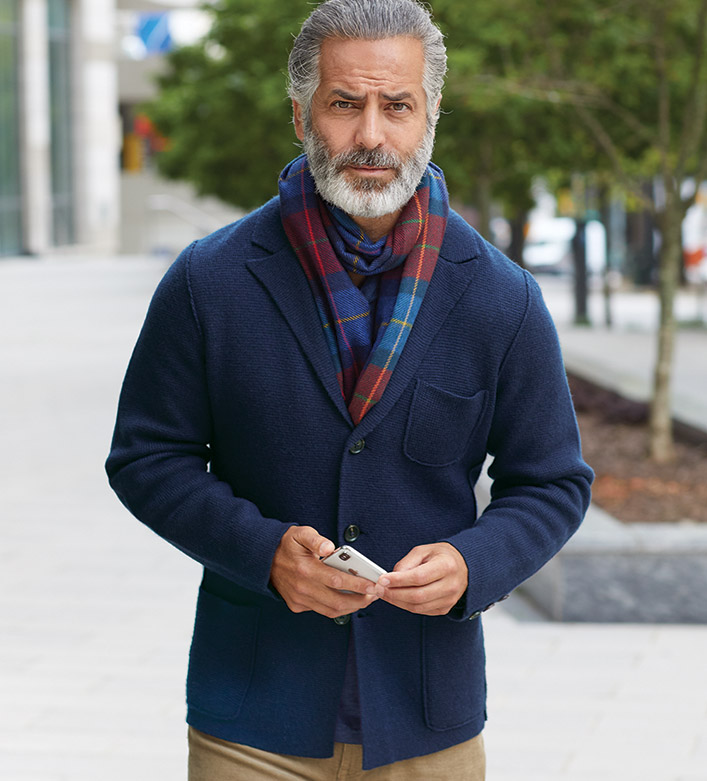 Reserve Wool-Cashmere Thomas Jacket