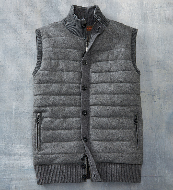 Patrick James Toulon Quilted Vest