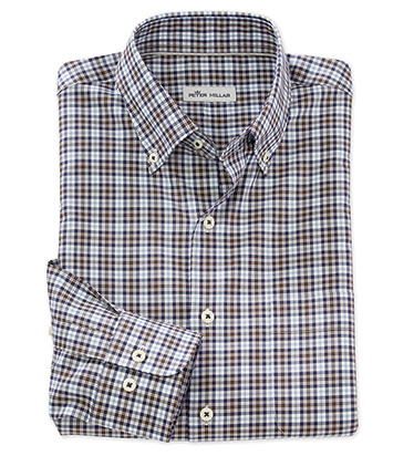 Worth Tartan Long Sleeve Sport Shirt
