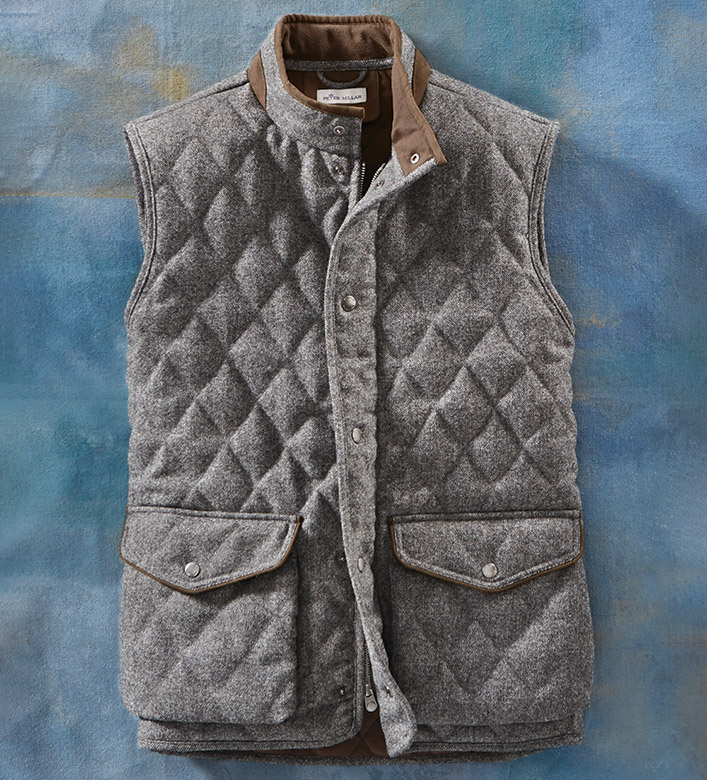 Peter Millar Delta Tweed Vest
