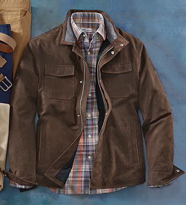 Ranger Leather Field Jacket