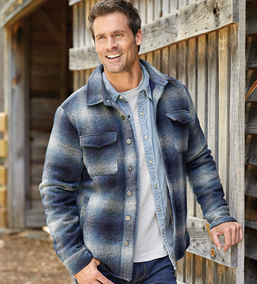 Blue Ridge Shirt Jacket