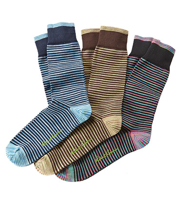 Kerrigan Stripe Socks