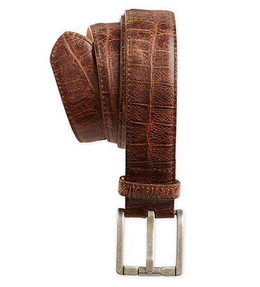 Reptile Embossed Belt