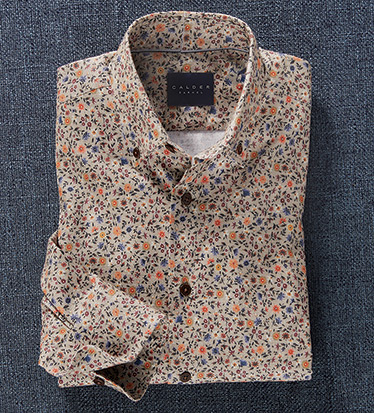Limited Edition Floral Long Sleeve Sport Shirt