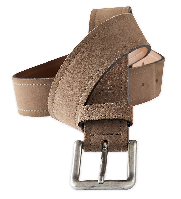 Trask Sutton Suede Belt
