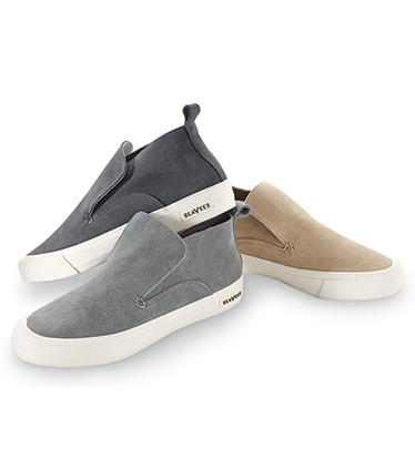 Huntington Suede Slip-On Shoes