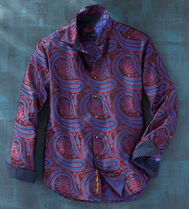 Limited Edition Paisley Park Long Sleeve Sport Shirt